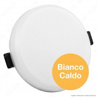 V-Tac PRO VT-608 RD Pannello LED Rotondo 8W SMD da Incasso con Driver con Chip Samsung - SKU 626 / 627 / 628