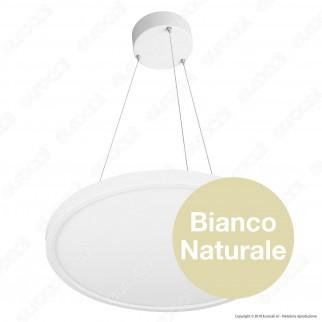 V-Tac Pannello LED Rotondo a Sospensione Ø400mm 40W SMD con Driver Colore Bianco - SKU 6432