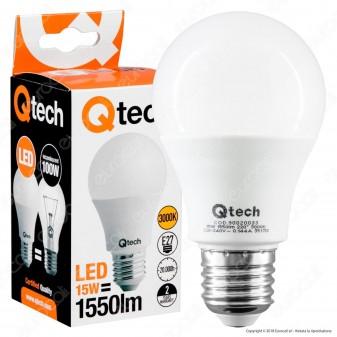 Qtech Lampadina LED E27 15W Bulb A60