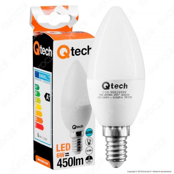 Qtech Lampadina LED E14 6W Candela