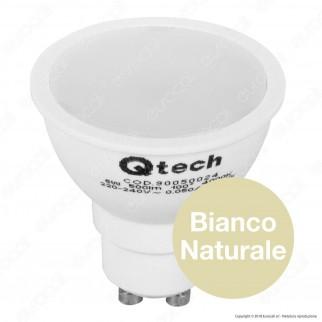 Qtech Lampadina LED GU10 6W Faretto Spotlight