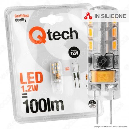 Qtech Lampadina LED G4 1,2W Bulb - mod. 90040001