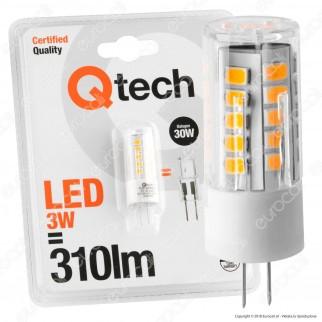 Qtech Lampadina LED G4 3W Bulb