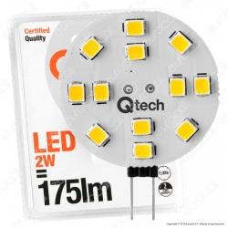 Qtech Lampadina LED G4 2W Bulb Disc - mod. 90040004