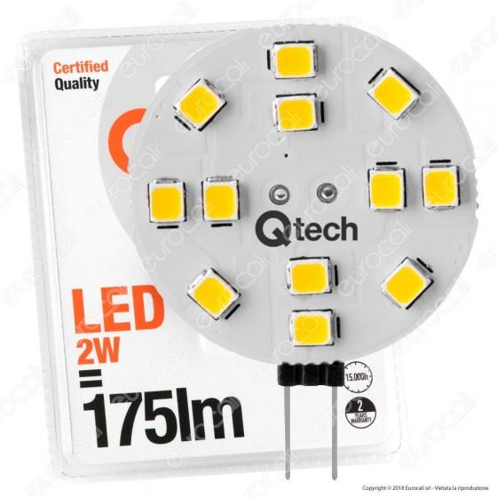 Qtech Lampadina LED G4 2W Bulb Disc