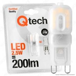 Qtech Lampadina LED G9 2,5W Bulb - mod. 90040005