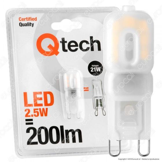 Qtech Lampadina LED G9 2,5W Bulb