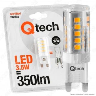 Qtech Lampadina LED G9 3,5W Bulb - mod. 90040006
