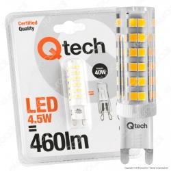 Qtech Lampadina LED G9 4,5W Bulb - mod. 90040007 / 90040008