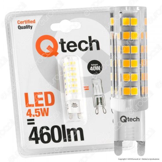 Qtech Lampadina LED G9 4,5W Bulb