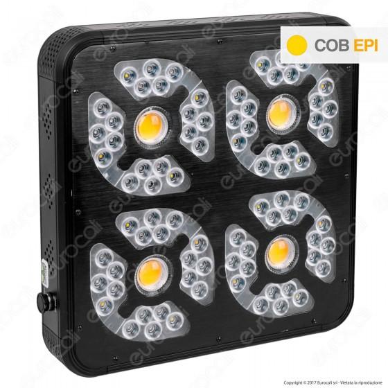 Ortoled 9 Serie K Lampada LED 540W per Coltivazione Indoor Consumo Reale 360W