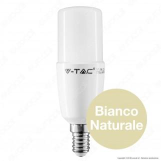 V-Tac PRO VT-248 Lampadina LED E14 8W Tubolare T37 Chip Samsung - SKU 268 / 269