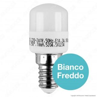 V-Tac PRO VT-202 Lampadina LED E14 2W Tubolare T26 Chip Samsung - SKU 234 / 235 / 236