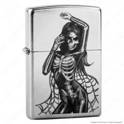 Accendino Zippo Mod. 29403 Sexy Skeleton - Ricaricabile Antivento