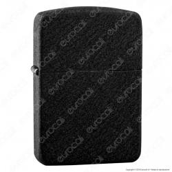 Accendino Zippo Mod. 28582 1941 Replica Black Crackle - Ricaricabile Antivento