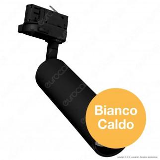 V-Tac PRO VT-415 Track Light LED COB 15W Colore Nero Chip Samsung - SKU 359 / 361