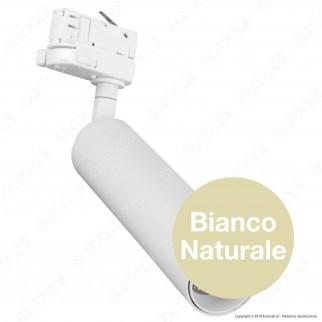V-Tac PRO VT-415 Track Light LED COB 15W Colore Bianco Chip Samsung - SKU 356 / 357