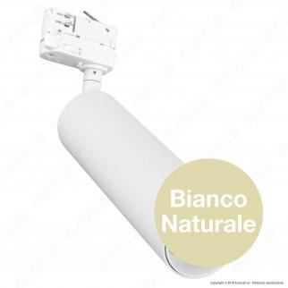 V-Tac PRO VT-420 Track Light LED COB 20W Colore Bianco Chip Samsung - SKU 362 / 363 / 364