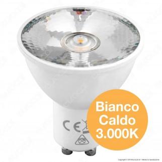 Marino Cristal Serie PRO Dicroled10 Lampadina LED GU10 6,5W Faretto Spotlight