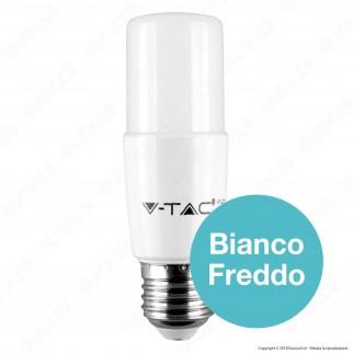 V-Tac PRO VT-237 Lampadina LED E27 8W Tubolare T37 Chip Samsung - SKU 145 / 146