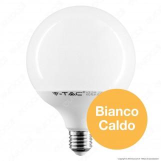 V-Tac PRO VT-218 Lampadina LED E27 17W Globo G120 Chip Samsung - SKU 225 / 226 / 227