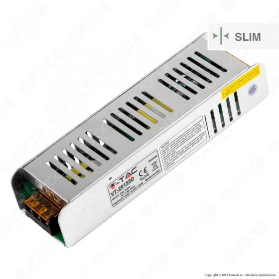 V-Tac VT-20154D Alimentatore Slim Series 150W Triac Dimmerabile Per Uso Interno a 2 Uscita con Morsetti a Vite - SKU 3257