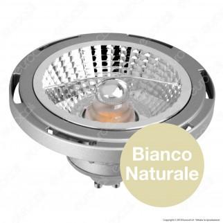 Marino Cristal Serie PRO Lampadina LED GU10 16W Faretto Spotlight Grigio AR111