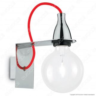 Ideal Lux Minimal AP1 Lampadario in metallo con Portalampada per Lampadine E27