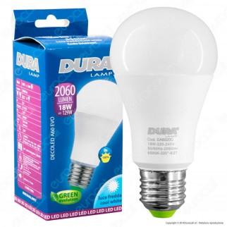 Duralamp Decoled Evo Lampadina LED E27 18W Bulb A60