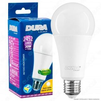 Duralamp High Power Evo Lampadina LED E27 20W Bulb A67