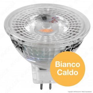 Bot Lighting Shot All Glass Lampadina LED GU5.3 (MR16) 6,2W Faretto Spotlight 60°