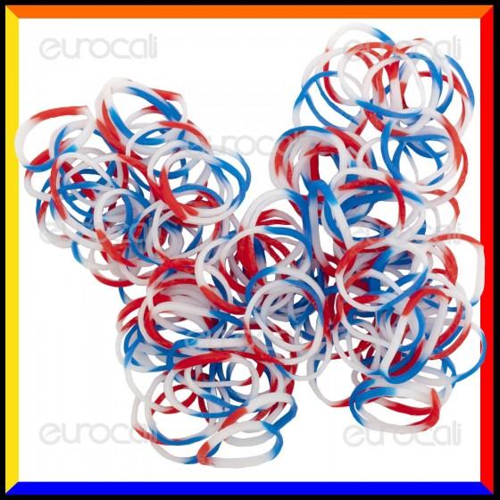 Loom Bands Elastici Colorati 3 Toni - Bustina da 600 pz