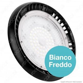 V-Tac PRO VT-9-100 Lampada Industriale LED Ufo Shape 100W SMD 90° Dimmerabile High Bay Chip Samsung - SKU 564 / 565