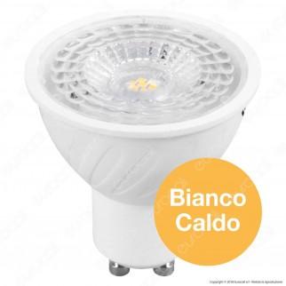 V-Tac PRO VT-247D Lampadina LED GU10 6,5W Faretto Spotlight Chip Samsung Dimmerabile - SKU 198 / 199 / 200