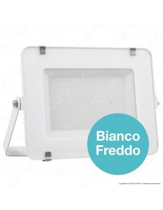 V-Tac PRO VT-150 Faro LED SMD 150W Ultrasottile Chip Samsung da Esterno Colore Bianco - SKU 478 / 480