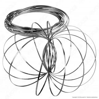 Champ Flow Bracelet Braccialetto a Molla - Argento