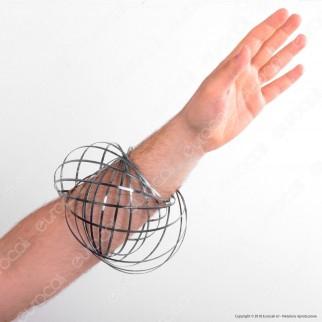 Champ Flow Bracelet Bracciale 3D a Molla Multigioco - Argento