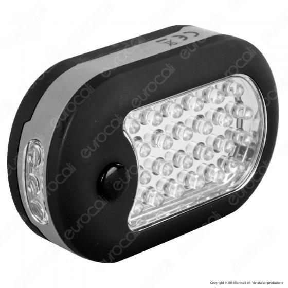 Wiva Torcia LED da Lavoro 24 + 4 LED