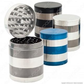 Grinder Tritatabacco 5 Parti in Metallo