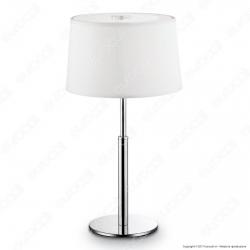 Ideal Lux Hilton TL1 Lampada da Tavolo in Metallo con Portalampada per Lampadine G9 - mod. 75525