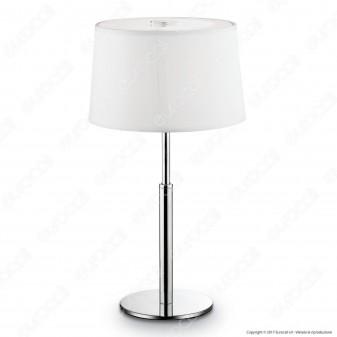 Ideal Lux Hilton TL1 Lampada da Tavolo in Metallo con Portalampada per Lampadine G9