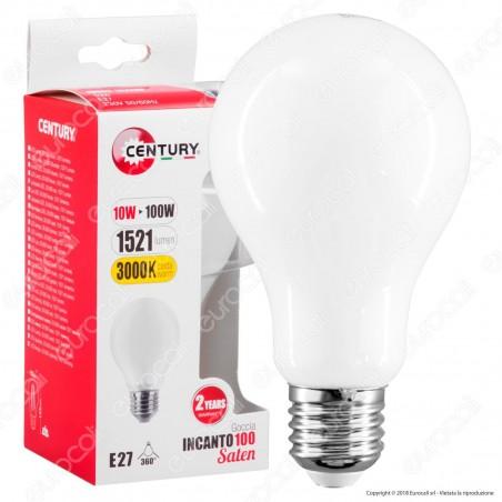 Century Lampadina LED E27 10W Bulb A70 White Filamento - mod. INSG3-102730 / INSG3-102760