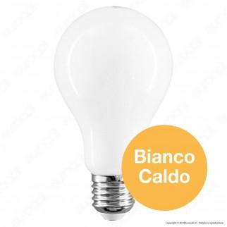 Life Lampadina LED E27 10W Bulb A60 White Filamento