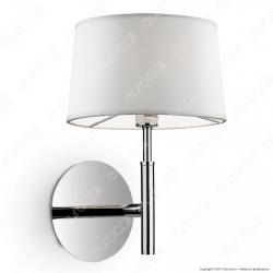 Ideal Lux Hilton AP1 Lampada da Parete in Metallo con Portalampada per Lampadine G9 - mod. 75471