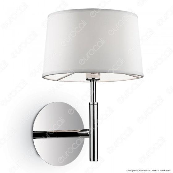 Ideal Lux Hilton AP1 Lampada da Parete in Metallo con Portalampada per Lampadine G9