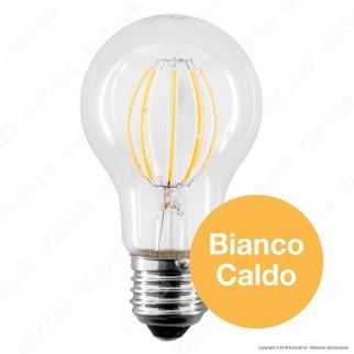 LED Line Lampadina LED E27 10W Bulb A60 Filamento Grafene