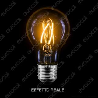 LED Line Lampadina LED E27 4W Bulb A60 Filamento Grafene