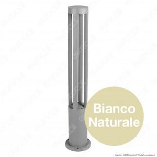 V-Tac VT-820 Lampada LED da Giardino con Fissaggio a Terra 10W Colore Grigio IP65 - SKU 8328 / 8329 / 8330