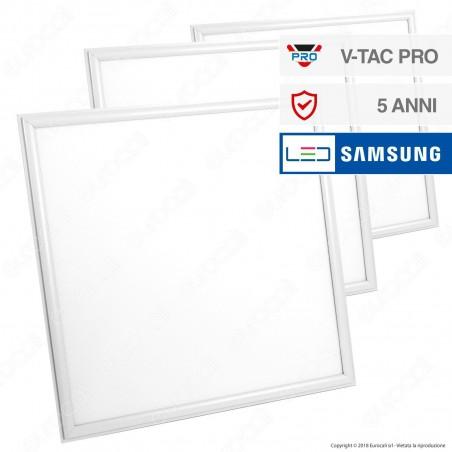 V-Tac VT-645 6 Pannelli LED Chip Samsung 60x60 45W SMD con Driver - SKU 632 / 633 / 634