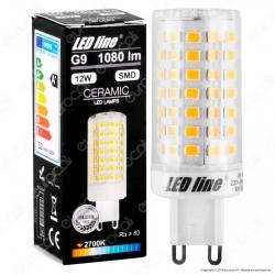 LED Line Lampadina LED G9 12W Bulb Ceramic - mod. 248900 / 248917 / 248924